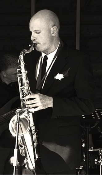 James Hunt saxophone quartet wedding ceremony